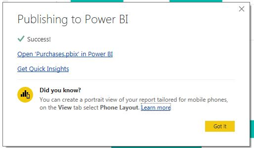 INTEGRATING SHAREPOINT ONLINE AND POWER BI (PART 1